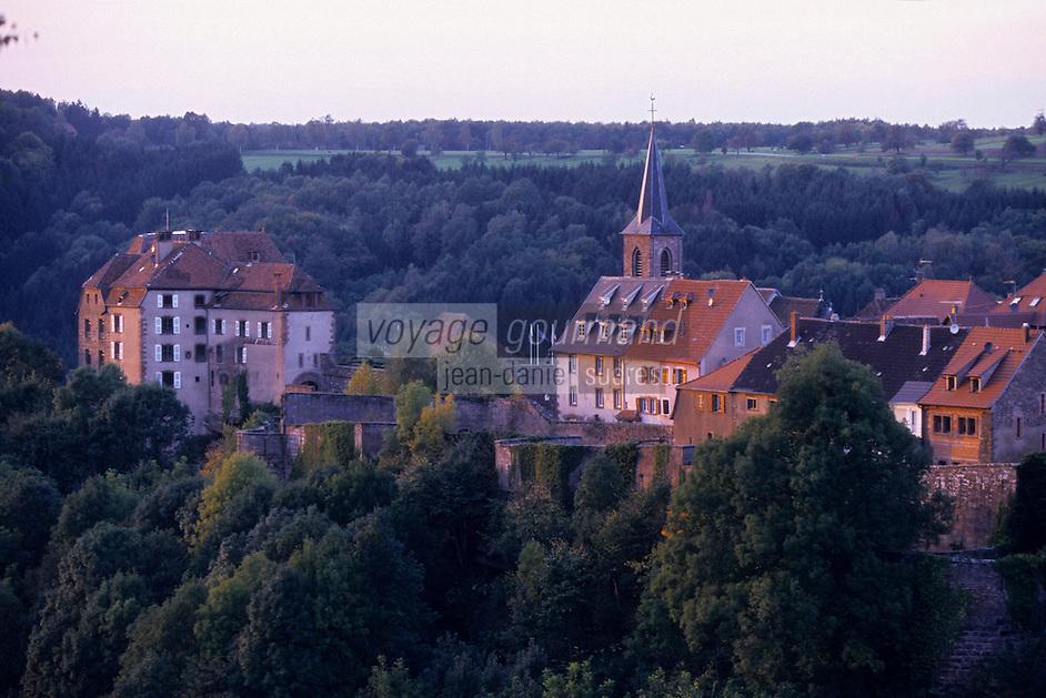 Europe/France/Alsace/67/Bas-Rhin/La Petite Pierre : Le village