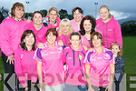 The Gaelic 4 Mothers team, Killorglin, who won the opportunity to paly during half time in next sundays All Ireland at a training session in Killorglin during the week. Pictured are Joan O'Donoghue, Kitty Flynn, Lorraine Wall, Patricia Griffin, Zelda O'Shea, Mary O'Sullivan, Bridget O'Shea, Saoirse O'Shea, mascot, Anne Smith, Linda Courtney, Carol Naughton and Maria McCarthy.......................