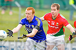 Johnny Buckley Kerry in action against  Mayo in the National Football League in Austin Stack Park on Sunday..