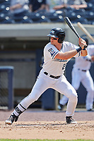 West Michigan Michigan Whitecaps designated hitter Cam Gibson (23) at bat against the Fort Wayne TinCaps during the Midwest League baseball game on April 26, 2017 at Fifth Third Ballpark in Comstock Park, Michigan. West Michigan defeated Fort Wayne 8-2. (Andrew Woolley/Four Seam Images)