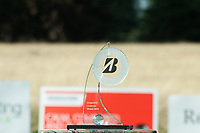 The Bridgestone Challenge trophy during the final round of the  Bridgestone Challenge, Louto Hoo Hotel, Bedfordshire, England. 09/09/2018.<br /> Picture  / Golffile.ie<br /> <br /> All photo usage must carry mandatory copyright credit (&copy; Golffile | )
