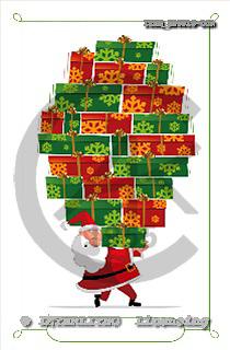 Isabella, CHRISTMAS SANTA, SNOWMAN, paintings, ITKE526019-DOR,#x# Weihnachtsmänner, Schneemänner, Weihnachen, Papá Noel, muñecos de nieve, Navidad, illustrations, pinturas