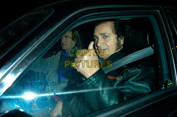ENGELBERT HUMPERDINK.Leaving the London Palladium after his one and only London concert, London, England, November 4th 2007..half length hand in car thumb up.CAP/CAN.©Can Nguyen/Capital Pictures