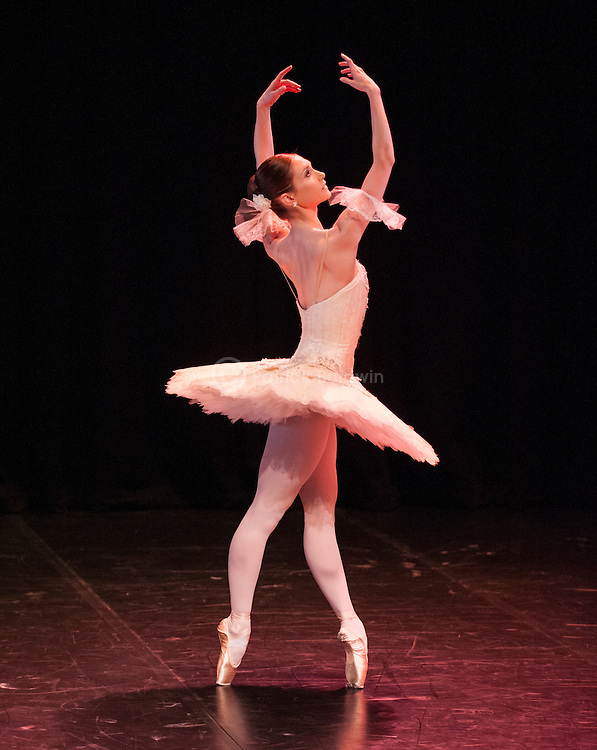 English National Ballet. Emerging Dancer competition 2013. Queen Elizabeth Hall. Alison McWhinney.