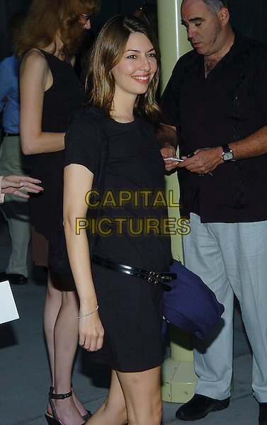 SOFIA COPPOLA.'Hero' Premiere held at the ArcLight Cinemas. West Hollywood, CA.17 August, 2004.half length, black dress belt.www.capitalpictures.com.sales@capitalpictures.com.© 2004 by V. Summers.