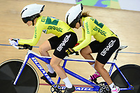 Picture by Simon Wilkinson/SWpix.com 23/03/2018 - Cycling 2018 UCI  Para-Cycling Track Cycling World Championships. Rio de Janeiro, Brazil - Barra Olympic Park Velodrome - Day 2 - Marcia Ribeiro GONCLAVES