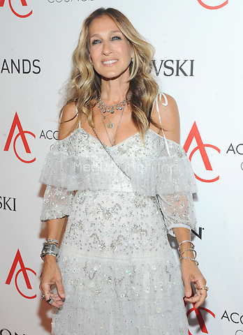 NEW YORK, NY - AUGUST 02: Actress Sarah Jessica Parker attends the Accessories Council 20th Anniversary celebration of the ACE awards at Cipriani 42nd Street on August 2, 2016 in New York City. Photo by John Palmer/ MediaPunch