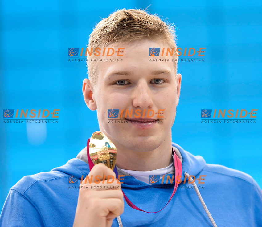Andriy GOVOROV UKR<br /> 50m Butterfly Men Final <br /> London, Queen Elizabeth II Olympic Park Pool <br /> LEN 2016 European Aquatics Elite Championships <br /> Swimming<br /> Day 09 17-05-2016<br /> Photo Andrea Staccioli/Deepbluemedia/Insidefoto