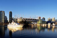 new B.C. Place - Stadium at False Creek, Downtown Vancouver,.British Columbia, Canada  Jan. 2012