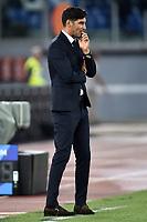 Paulo Fonseca coach of AS Roma looks dejected <br /> Roma 25-9-2019 Stadio Olimpico <br /> Football Serie A 2019/2020 <br /> AS Roma - Atalanta Bergamasca Calcio <br /> Foto Andrea Staccioli / Insidefoto