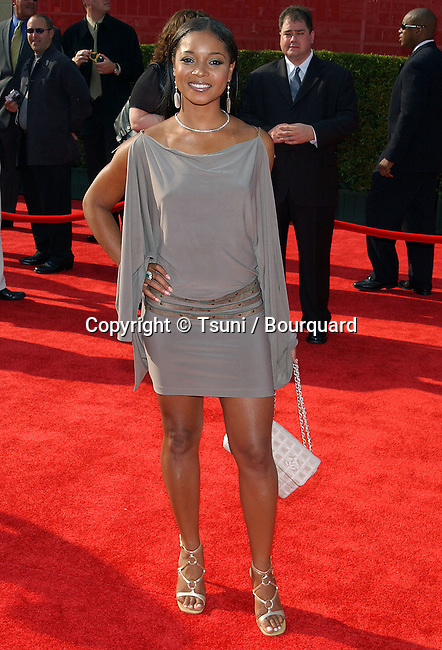 Tamala Jones arriving at the ESPY Awards at the Kodak Theatre in Los Angeles. July 16, 2003.