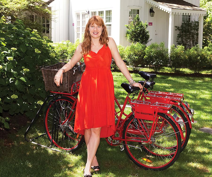 Jenny Ljungberg, at the Maidstone,East Hampton, NY.