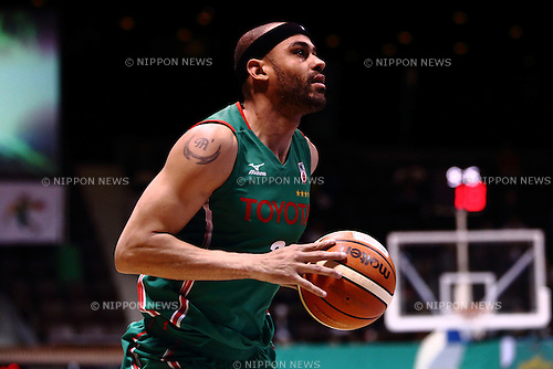 Michael Parker (ALVARK), <br /> APRIL 17, 2016 - Basketball : <br /> National Basketball League &quot;NBL&quot; 2015-2016 <br /> between TOYOTA ALVARK TOKYO 87-78  Chiba Jets <br /> at 2nd Yoyogi Gymnasium, Tokyo, Japan. <br /> (Photo by AFLO SPORT)