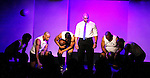Cast: Ade Otukoya, Jeantique Oriol, Melvin Huffnagle, Layon Gray, Lamar Cheston star in Layon Gray's Kings of Harlem - a story about the Harlem Rens who were one of the dominant basketball teams of the 1920's and 1930's - had a special show on September 15, 2015 at St. Luke's Theatre, New York City, New York. The play stars Melvin Huffnagle, Thaddeus Daniels, Ade Otukoya, Lamar Cheston, Delano Barbosa, Jeantique Oriol and Layon Gray.  (Photo by Sue Coflin/Max Photos)
