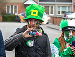 170318<br /> Terry O'Donnell during St Patricks Day parade in Shannon.Pic Arthur Ellis.