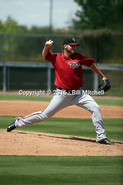 Tucker Ward - Arizona Diamondbacks 2016 extended spring training (Bill Mitchell)