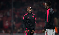 Edward 'Eddie' Nketiah of Arsenal ahead of the UEFA Europa League group stage match between Arsenal and FC Red Star Belgrade at the Emirates Stadium, London, England on 2 November 2017. Photo by PRiME Media Images.