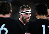 All Blacks captain Kieran Read during the Rugby Championship match between the New Zealand All Blacks and South Africa Springboks at Westpac Stadium in Wellington, New Zealand on Saturday, 15 September 2018. Photo: Dave Lintott / lintottphoto.co.nz