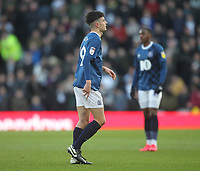 Blackburn Rovers John Buckley  leaves the pitch after being sent off<br /> <br /> Photographer Mick Walker/CameraSport<br /> <br /> The EFL Sky Bet Championship - Derby County v Blackburn Rovers - Sunday 8th March 2020  - Pride Park - Derby<br /> <br /> World Copyright © 2020 CameraSport. All rights reserved. 43 Linden Ave. Countesthorpe. Leicester. England. LE8 5PG - Tel: +44 (0) 116 277 4147 - admin@camerasport.com - www.camerasport.com