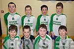 Community Games Indoor Soccer U13's: Taking part in the indoor soccer U13's  qualifiers at St Senan's Sports Hall, Mountcoal, Listowel on Sunday were  the .team representing Lixnaw were front: Donal Hunt, Robert Silles, Darragh Kennelly & Danny Quilter. Back: Cathal Kennelly, Colin Sheehy, David Behan & Bill Keane.