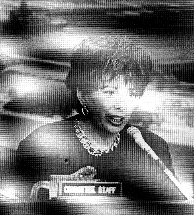 Rep. Helen P. Chenoweth-Hage, R-Idaho on March 2, 1998. (Photo by Rebecca Roth/CQ Roll Call)