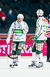 Solna 2014-03-16 Bandy SM-final herrar Sandvikens AIK - V&auml;ster&aring;s SK :  <br /> V&auml;ster&aring;s Johan Esplund och V&auml;ster&aring;s Aksel Ekblom deppar<br /> (Foto: Kenta J&ouml;nsson) Nyckelord:  SM SM-final final herr herrar VSK V&auml;ster&aring;s SAIK Sandviken  depp besviken besvikelse sorg ledsen deppig nedst&auml;md uppgiven sad disappointment disappointed dejected