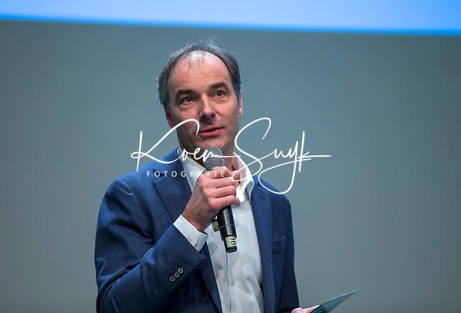UTRECHT - KNHB voorzitter Erik Cornelissen. Nationaal Hockey Congres van de KNHB, COPYRIGHT KOEN SUYK
