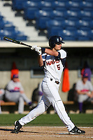 March 6 2009: Nate Simon of the Pepperdine Waves in action against the Evansville Purple Aces at Eddy D. Field Stadium in Malibu,CA.  Photo by Larry Goren/Four Seam Images