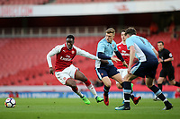 James Olayinka of Arsenal in action during Arsenal Youth vs Blackpool Youth, FA Youth Cup Football at the Emirates Stadium on 16th April 2018