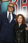 Tommy Tune and Bernadette Peters attends the Broadway Opening Night performance of 'Bandstand' at the Bernard B. Jacobs Theatre on 4/26/2017 in New York City.