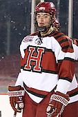 Patrick McNally (Harvard - 8) - The Union College Dutchmen defeated the Harvard University Crimson 2-0 on Friday, January 13, 2011, at Fenway Park in Boston, Massachusetts.
