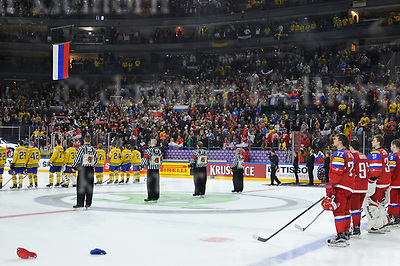 Friday, 5 May, 2017,Lanxess Arena , Cologne/GER<br /> IIHF World Hockey Championship 2017<br /> SWE  vs  RUS<br /> Finally Sweden lost vs Russia in a shootout.