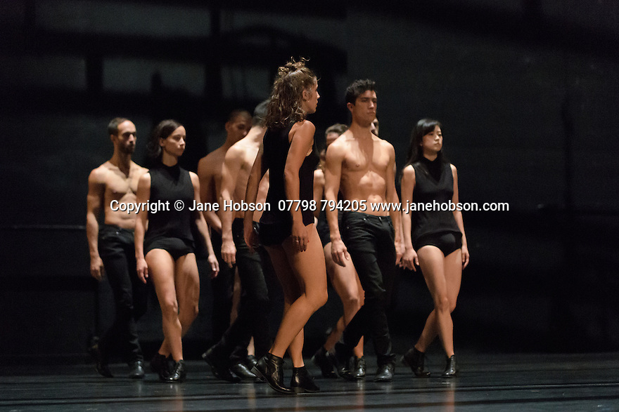 London, UK. 06.10.2016. CCN - Ballet de Lorraine presents &quot;Unknown Pleasures&quot;, at Sadler's Wells, as part of Dance Umbrella. &quot;Unknown Pleasures&quot; is a completely anonymous programme &ndash;<br />