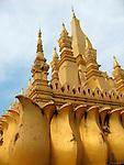 Phra That Luang, Vientiane, Laos