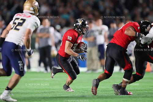 Yuichi Kon (Frontiers), <br /> DECEMBER 12, 2016 - American Football : <br /> X League Championship &quot;Japan X Bowl&quot; <br /> between Obic Seagulls 3-16 Fujitsu Frontiers <br /> at Tokyo Dome, Tokyo, Japan. <br /> (Photo by YUTAKA/AFLO SPORT)