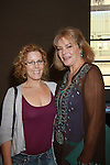 Denise Pence and Guiding Light Liz Keifer (OLTL and GH) hosts the Daytime Stars and Strikes Charity Event to benefit the American Cancer Society at the Bowlmore Lanes, New York City, New York featuring actors from One Life To Live and Guiding Light. (Photo by Sue Coflin/Max Photos)