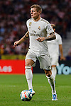 Toni Kroos of Real Madrid during La Liga match between Atletico de Madrid and Real Madrid at Wanda Metropolitano Stadium{ in Madrid, Spain. {iptcmonthname} 28, 2019. (ALTERPHOTOS/A. Perez Meca)