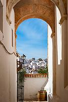 Spanien, Andalusien, Provinz Cádiz, Vejer de la Frontera: Torbogen | Spain, Andalusia, Province Cádiz, Vejer de la Frontera: arch
