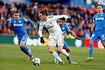 Real Madrid CF's Gareth Bale   during the Spanish La Liga match round 19 between Getafe CF and Real Madrid at Santiago Bernabeu Stadium in Madrid, Spain during La Liga match. Jan 04, 2020. (ALTERPHOTOS/Manu R.B.)