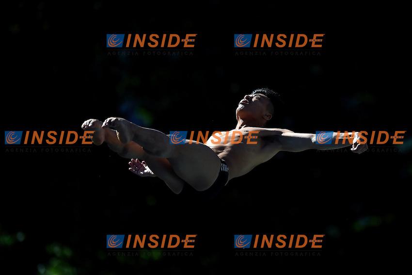 TERAUCHI Ken JPN <br /> Men's 3m Springboard Preliminary - Trampolino 3m Uomini <br /> Bolzano 01-08-2014 <br /> 20 Fina Diving Grand Prix <br /> Photo Andrea Staccioli/Insidefoto