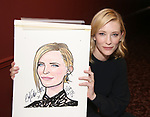 Blanchett and Roxburgh Sardi's portraits unveiled