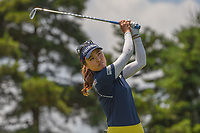 So Yeon Ryu (KOR) watches her tee shot on 3 during round 3 of the 2018 KPMG Women's PGA Championship, Kemper Lakes Golf Club, at Kildeer, Illinois, USA. 6/30/2018.<br /> Picture: Golffile | Ken Murray<br /> <br /> All photo usage must carry mandatory copyright credit (&copy; Golffile | Ken Murray)