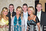 STYLE: Looking stylish at the Tralee Debs Ball in the Abbeygate Hotel, Tralee on Saturday night were front l-r: Bernie O'Connor, Stephanie Hogan and Lisa Keane. Back l-r: Christopher Hegarty, Gary Marshall and Barry John Keane.   Copyright Kerry's Eye 2008