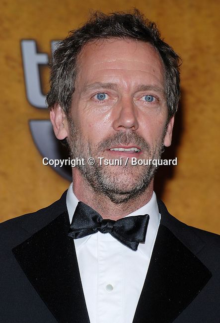 Hugh Laurie backstage at the SAG Awards at the Shrine Auditorium in Los Angeles. January 28, 2007.<br /> <br /> headshot