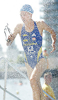 05 AUG 2007 - LONDON, UK - Hollie Avil - London Triathlon. (PHOTO (C) NIGEL FARROW)