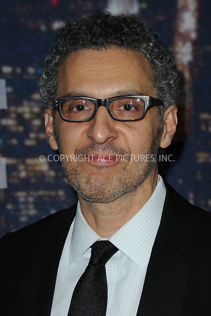 WWW.ACEPIXS.COM<br /> February 15, 2015 New York City<br /> <br /> <br /> John Turturrowalking the red carpet at the SNL 40th Anniversary Special at 30 Rockefeller Plaza on February 15, 2015 in New York City.<br /> <br /> Please byline: Kristin Callahan/AcePictures<br /> <br /> ACEPIXS.COM<br /> <br /> Tel: (646) 769 0430<br /> e-mail: info@acepixs.com<br /> web: http://www.acepixs.com