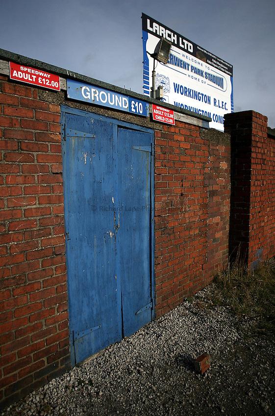 Photo: Paul Thomas..20/02/2007..Workington Rugby League Club..General view.