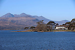 Killarney Golf Club, nestled on the shores of Lough lein, KilLarney, Ireland.<br /> Picture by Don MacMonagle