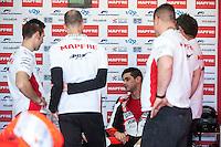 Jordi Torres in Mapfre Aspar Team box at pre season winter test IRTA Moto3 & Moto2 at Ricardo Tormo circuit in Valencia (Spain), 11-12-13 February 2014