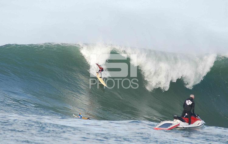Mavericks Surf Contest in Half Moon Bay, Calif., Saturday, January 12, 2008.